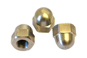 Brass Fixing Dome Nuts