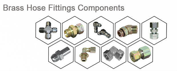 Brass Hose Fittings Components