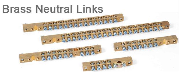 Brass Neutral Links