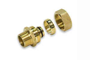 Compression Nuts for mixer and line connectors