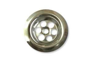 Stainless Steel Grids Strainers Sieves Kitchen Sinks Bath Overflow Grids