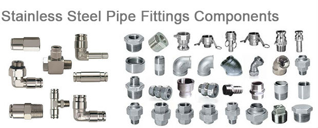 Stainless Steel Pipe Fittings Components