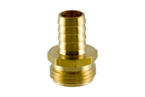 Threaded hose fittings