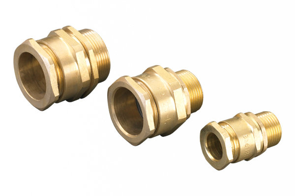 Cable glands wiping cxt brass