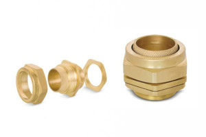 BW 3 Part Brass Cable Glands