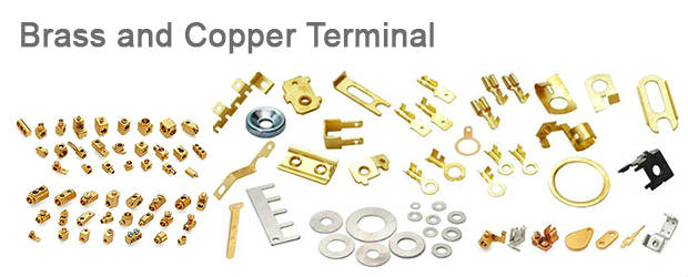 Brass and Copper Terminal
