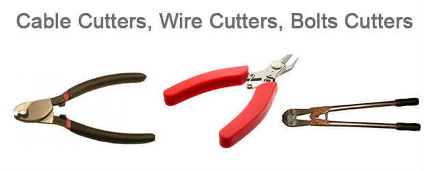 Cable Cutters Wire Cutters Bolts Cutters