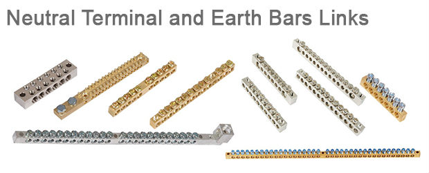 Neutral Terminal and Earth Bars Links