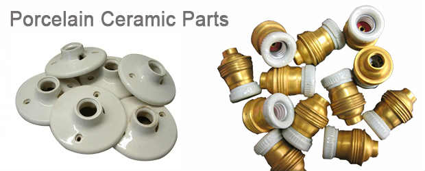 Porcelain Ceramic Parts