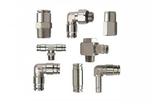S.S 316 AISI Stamped Tees Twin Ferrule