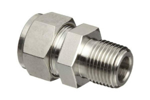 Stainless male couplers Compression