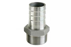 Stainless steel hose nipples